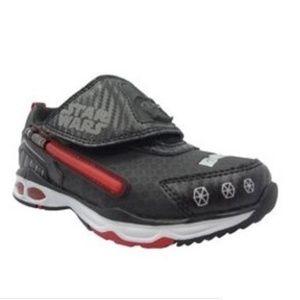 Star Wars Toddler Boy's Athletic Shoe Black Lights